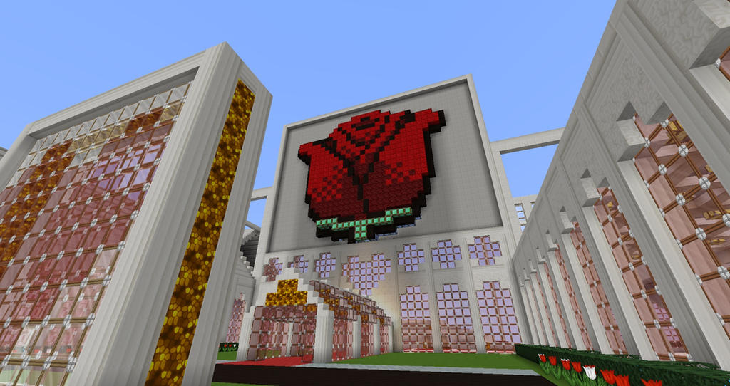 how to get a rose in minecraft