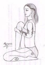 Temple Dancer Sitting