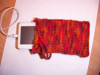 Knitted iPod Pouch