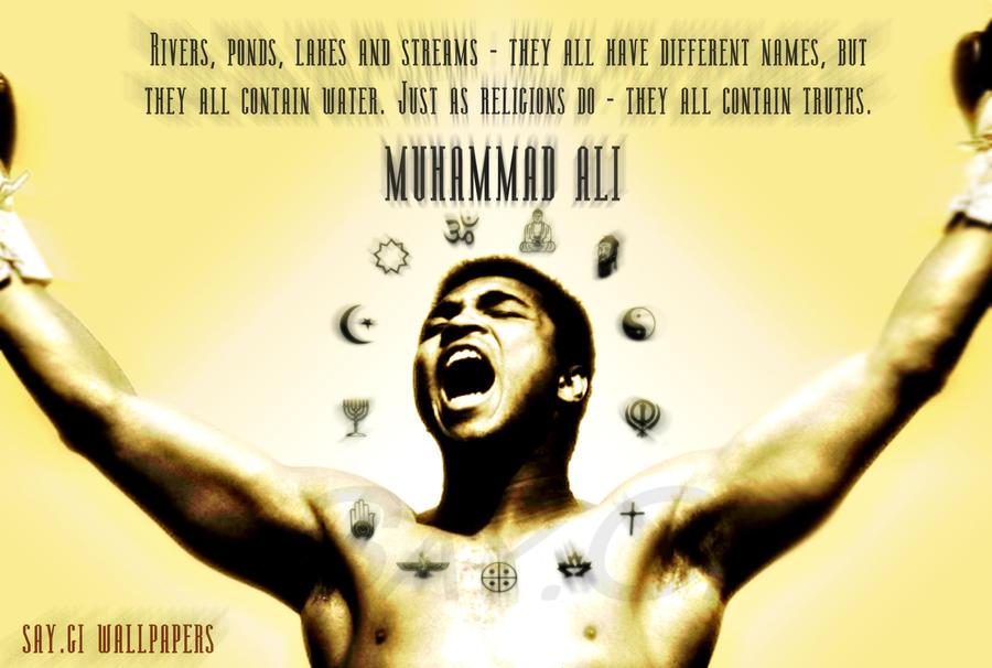 Muhammad Ali Racism Quotes