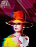 Audrey Hepburn - Modern Pop Art by TheSayGi