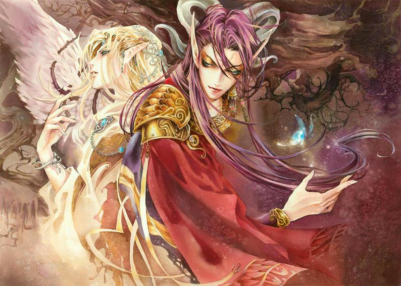 anime wolf demon. hair anime wolf demon. cute