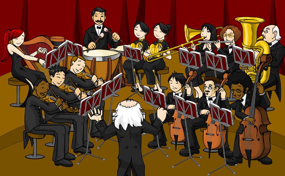 Orchestra by samuka