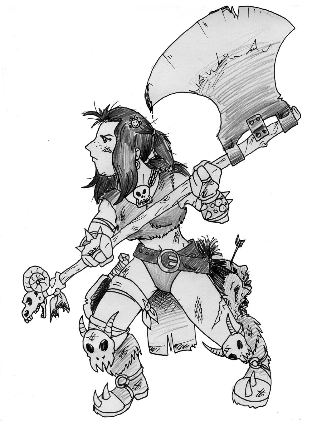 Marianinha The Conan Girl by samuka