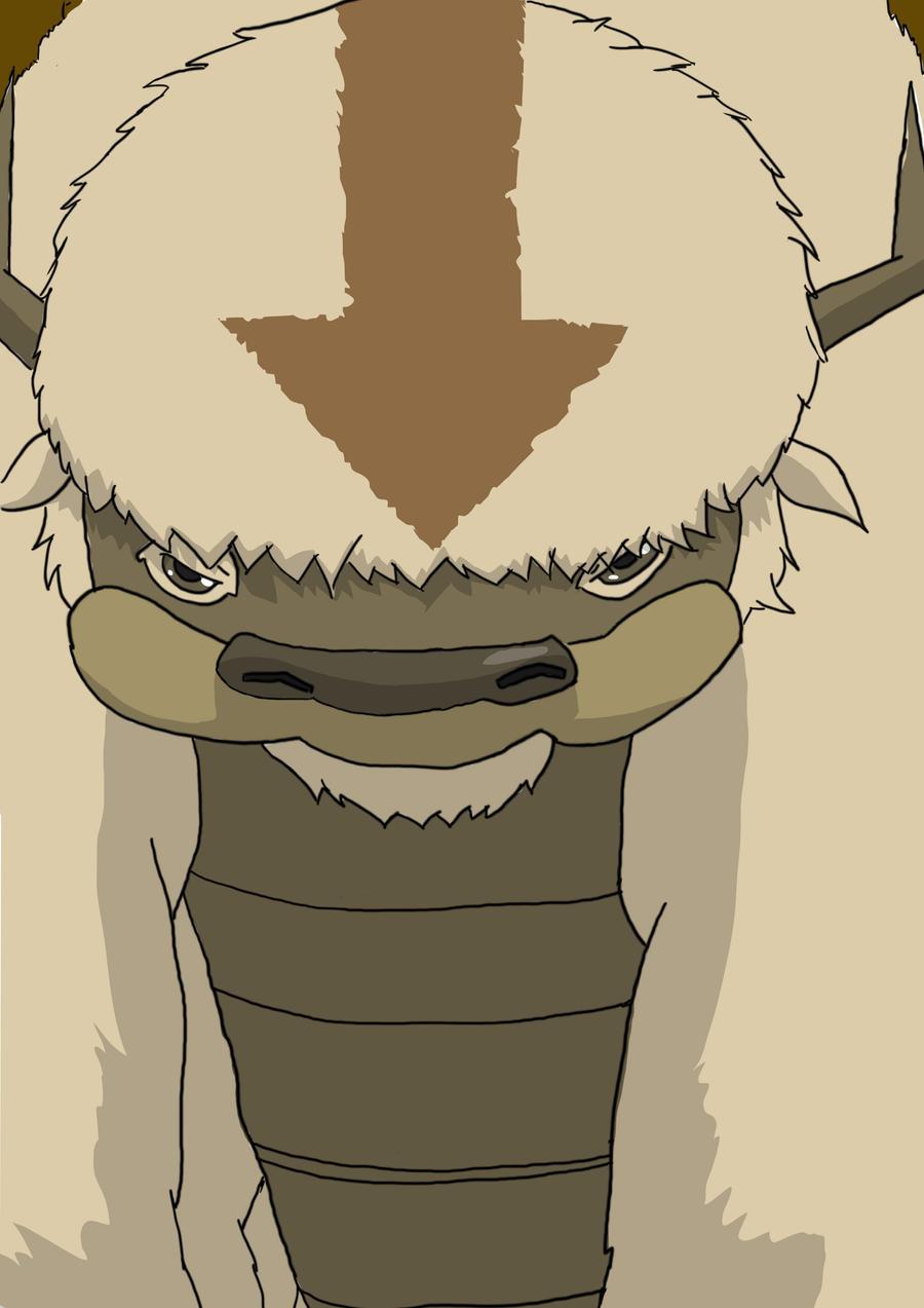 AvatarLegend Of Aang Appa By Devlin2010