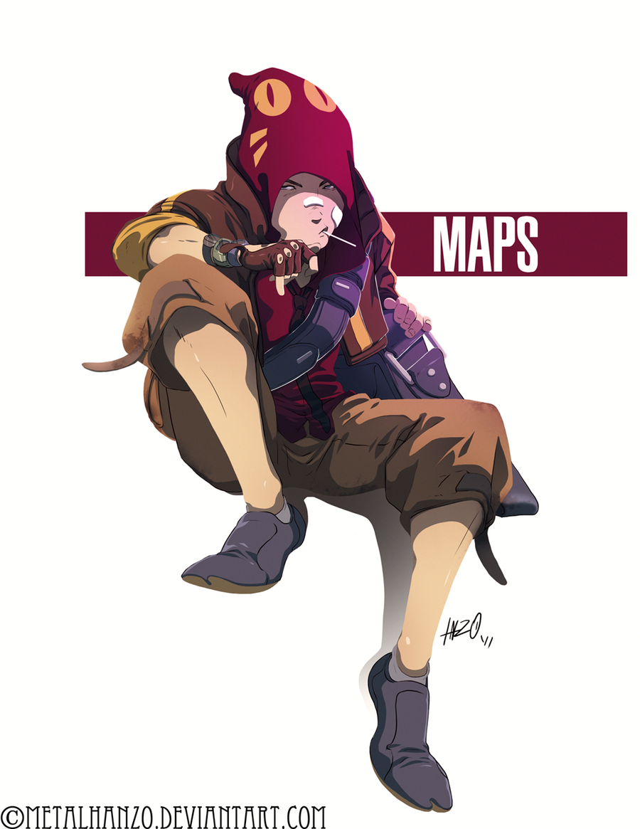 N.E.O.N-Maps by devlin2010