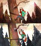 Gravity Falls Screencap redraw