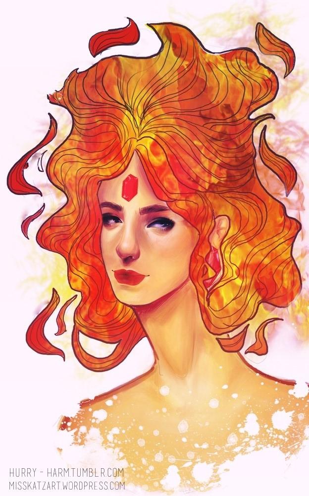 Flame Princess by Miss-Katz