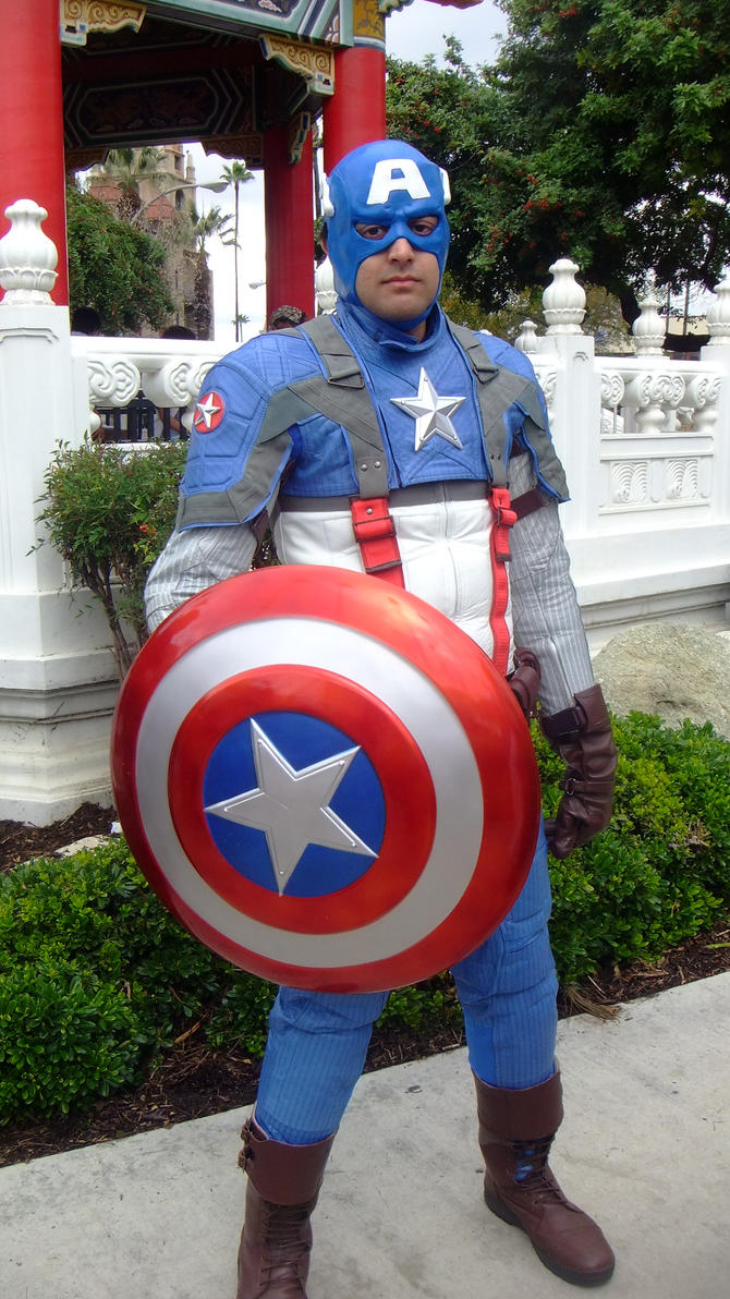 Steve Rogers aka Captain America Cosplay by coolpizza16 ... & Steve Rogers aka Captain America Cosplay by coolpizza16 on DeviantArt