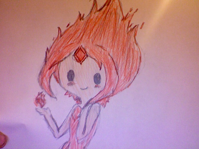 fire princess by KaylaMarie831