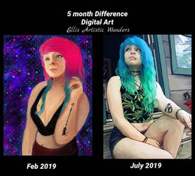 5 month difference