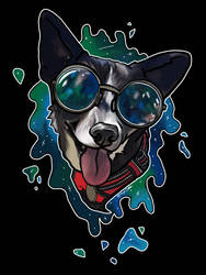 Groovy space Pup