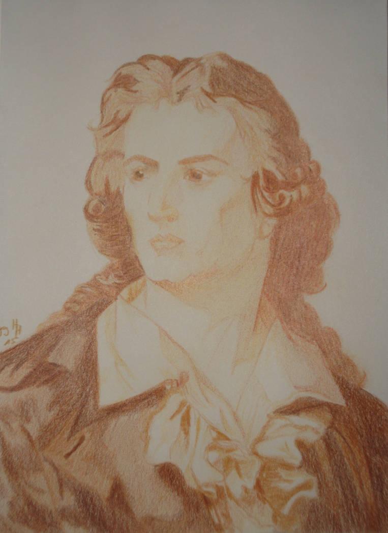 Friedrich Schiller - Sepia