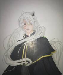 The white wolf of Zagan - Redraw