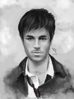 Enrique Iglesias - portrait by RedPear