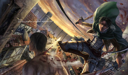 Captain Levi by RedPear