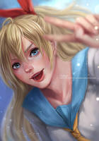 FA - Chitoge by RedPear