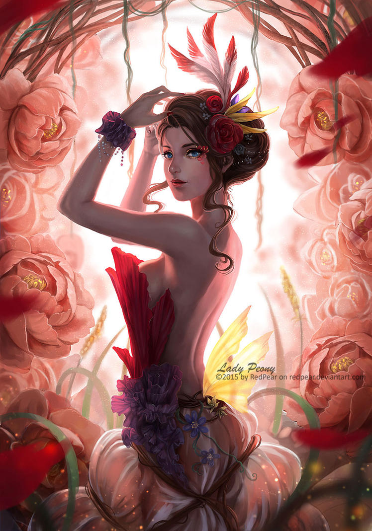 Lady Peony by RedPear