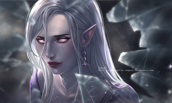 CM - Iseult - the glass witch