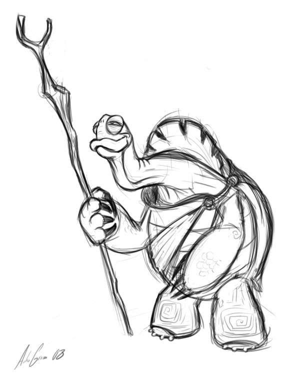 oogway coloring pages - photo#9