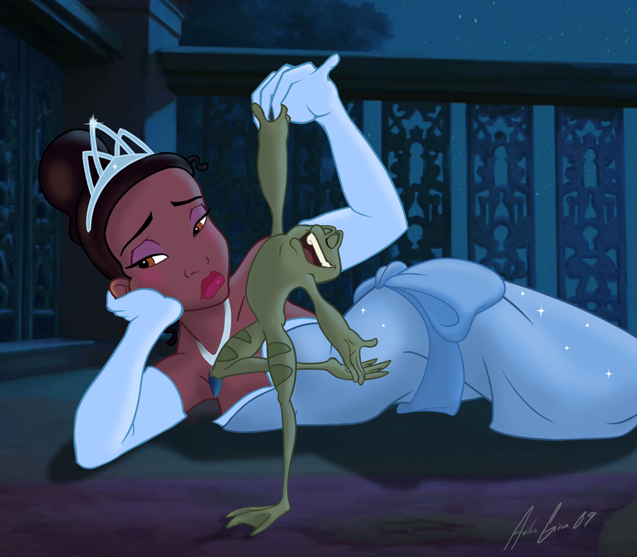 Princess Tiana by al305sr