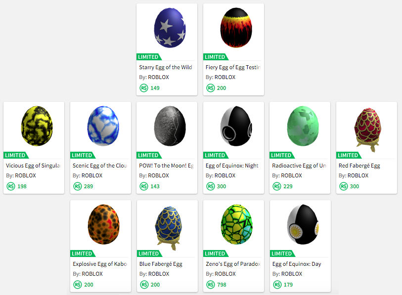 my limited 2008-2010 eggs by djloehr on DeviantArt