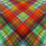 symmetrical plains of plaid