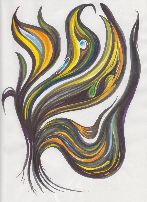 Marker Swirling by versonova