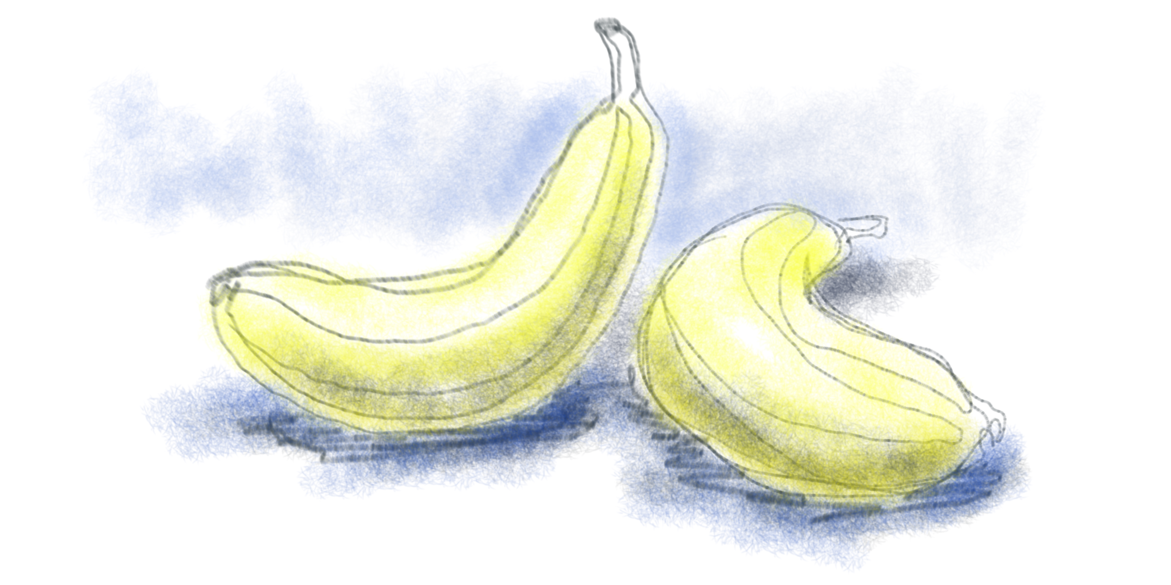 Two bananas for this  by versonova