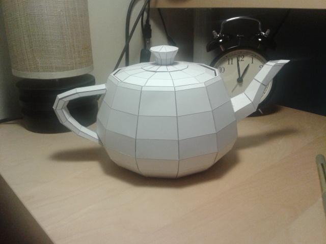 Utah Teapot Model by RedBull15