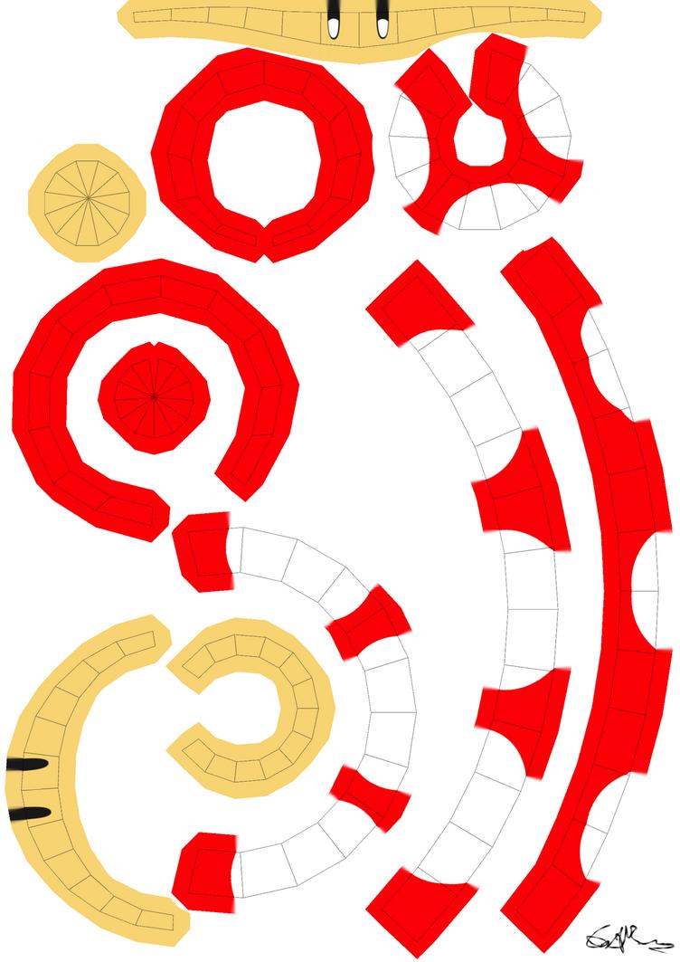 Mario Power-up mushroom template by RedBull15