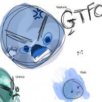 GTFO PLUTO by Symmie