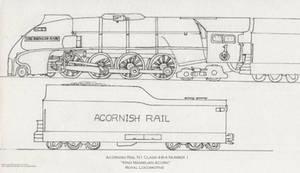 Acornish Royal Locomotive
