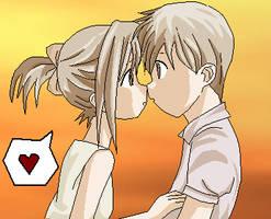 -Cute Couple- by Misuzu-Gao