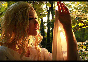 Galadriel - the Lady of Lothlorien by Ravenic