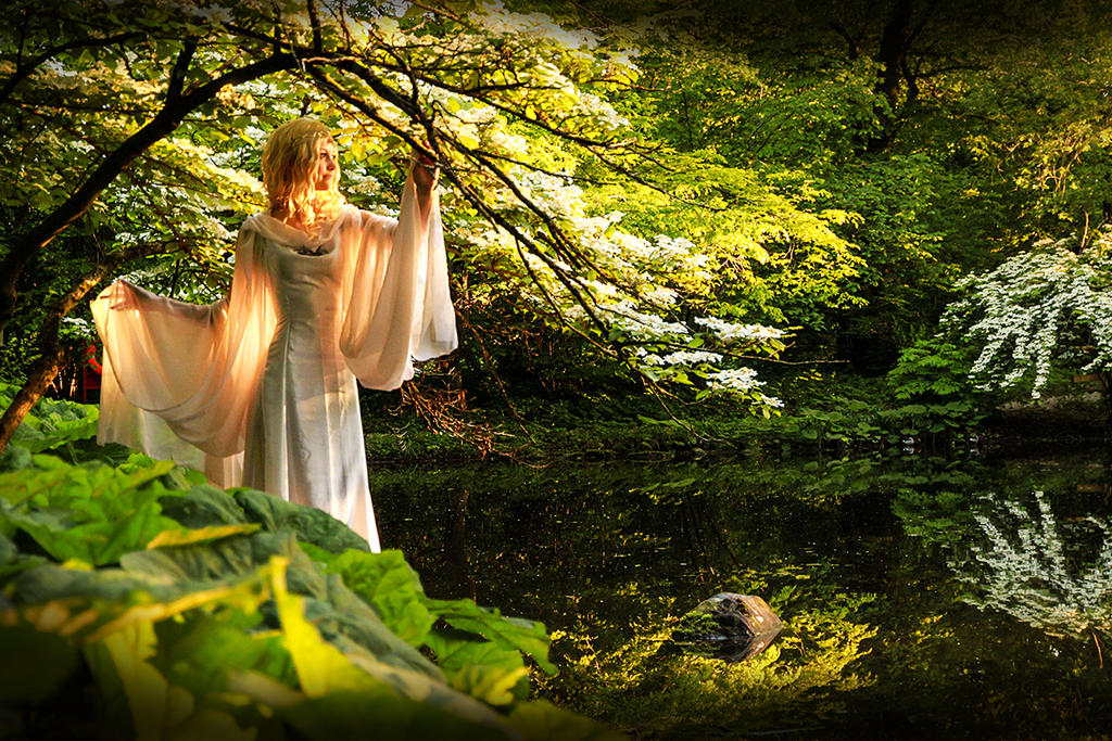 Lord of the Rings - Galadriel's Golden Wood by Ravenic