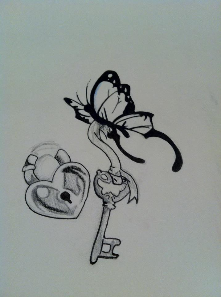 Key To My Heart Tattoo Designs The key to my heart by iSherie