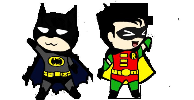 Batman And Robin Cartoon Images images