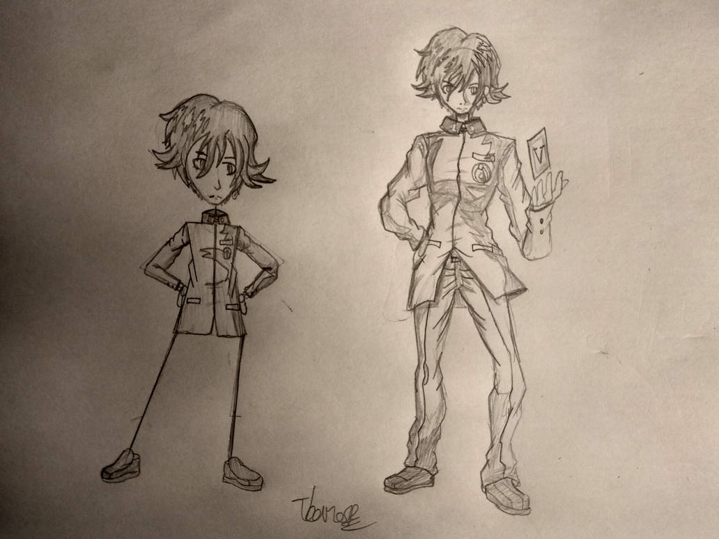 Naoya Toudou/Persona 1 MC