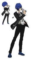 Persona Q2 - Chibi vs Humanoid #1(?): Makoto Yuki