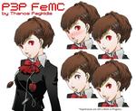 Persona 4 Arena - P3P FeMC Remake Sheet