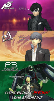 NG Plus/New Cycle in Persona Games in a Nutshell