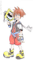 Sora The Keyblade Master