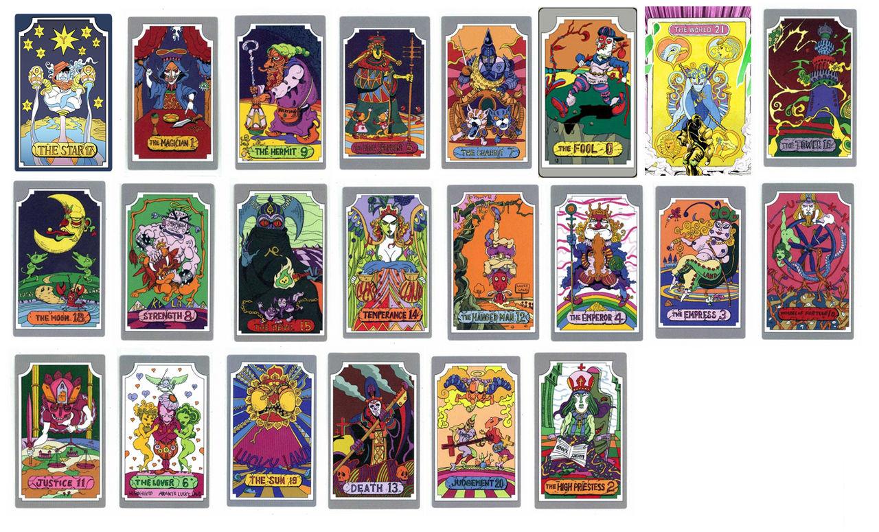 Jojo Tarot Cards By Mdwyer5 On DeviantArt