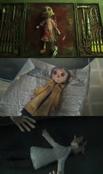 Coraline Doll by Mdwyer5