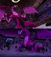 Ben 10 Charmcaster Dragon Form