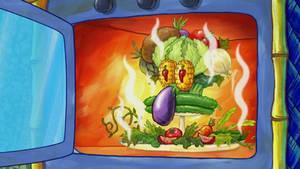Spongebob Vegetable Squidward