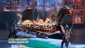 Baking Impossible Fantasy Dragon Ship