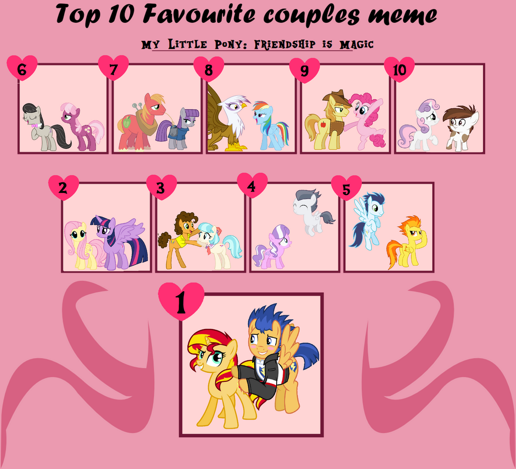 Top 10 Mlp Couples by