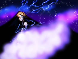 Angelus Son of the Thunder God by Shironotenshi